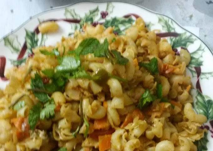 See How To Do It Make Perfectly Macaroni Pasta - Indian style Recipe