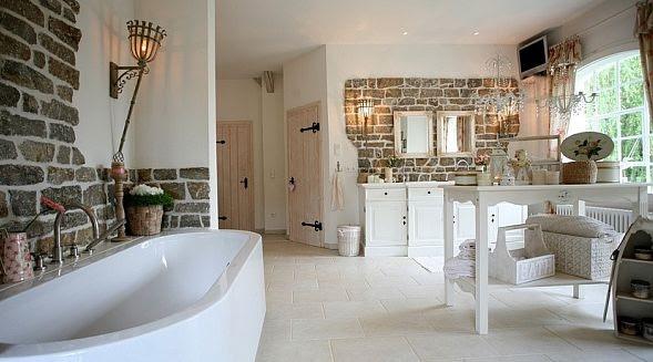 Badezimmer ideen landhausstil