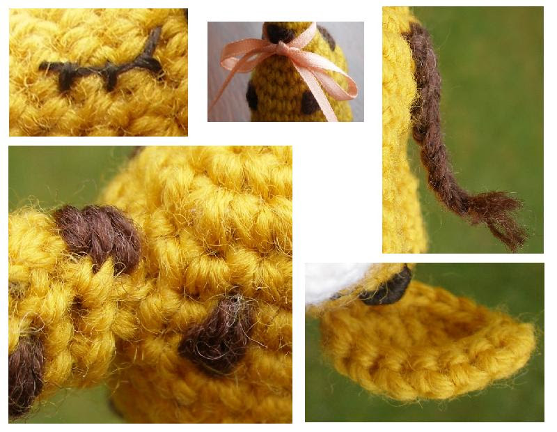 Crochet mystery animal