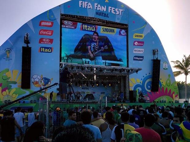 Fan Fest em Natal terá diversas atrações locais e nacionais (Foto: Rafael Barbosa/G1)