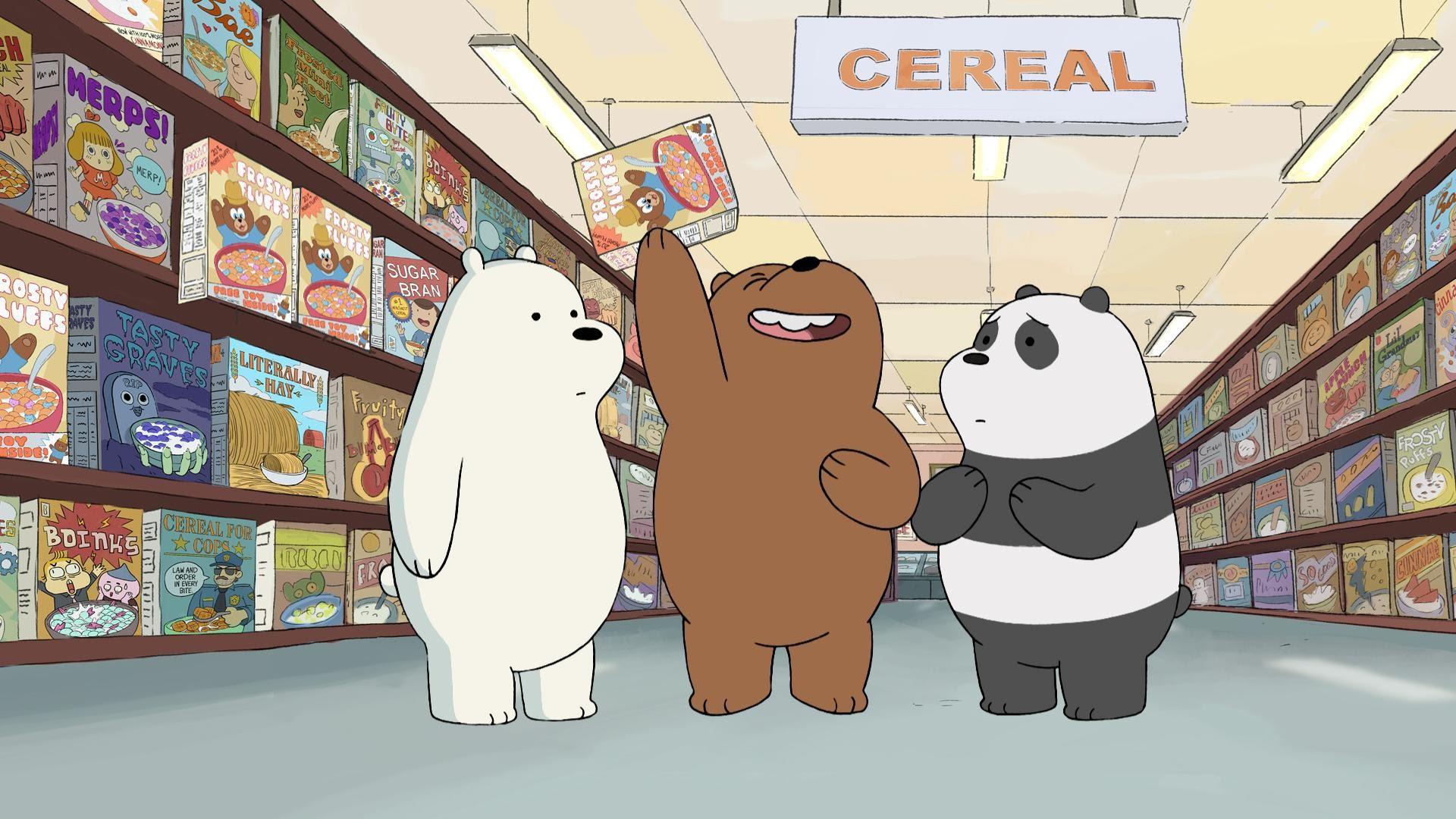Gambar Aesthetic Kartun We Bare Bears Dunia Gambar