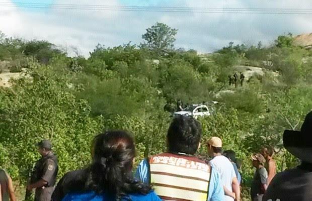Confronto aconteceu por volta das 8h desta quarta-feira em Caicó; quatro morreram (Foto: Divulgação/PM)