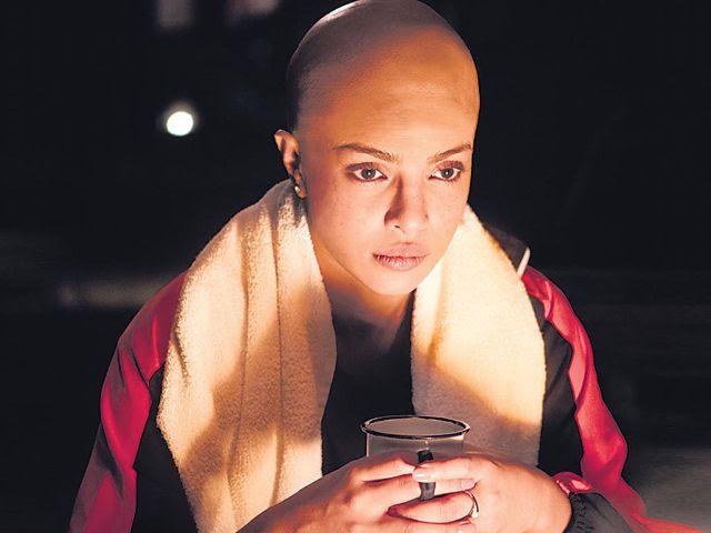 مشهد للممثلة بريانكا شوبرا من فيلم ماري كوم