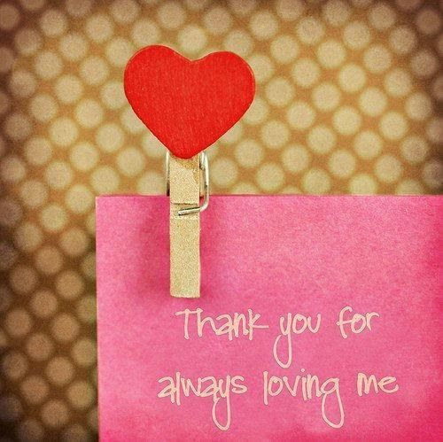 Thank You For Loving Me Pictures Photos And Images For Facebook