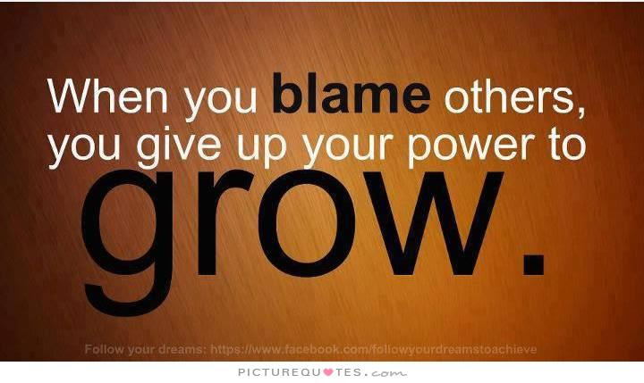 Quotes About Taking Blame 35 Quotes