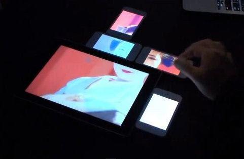 Pinch, la interfaz que permite conectar distintas pantallas en forma simultánea