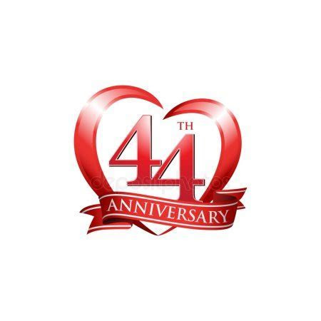 44th wedding anniversary Stock Vectors, Royalty Free 44th