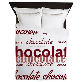 Celebrate Chocolate Queen Duvet
