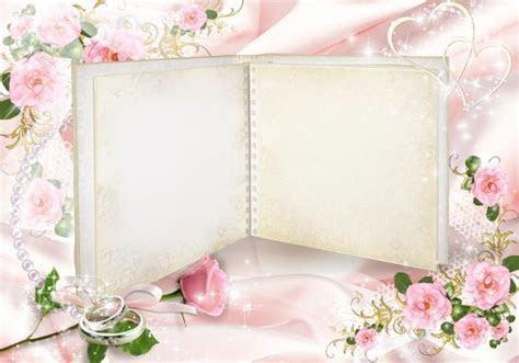 Wedding photo frame album for Photoshop
