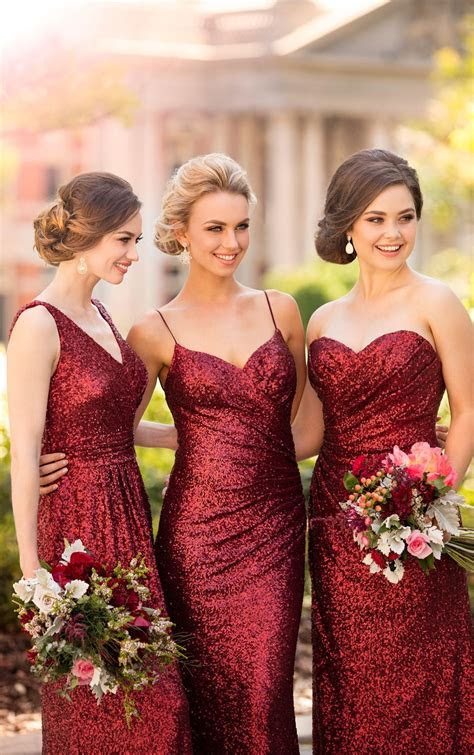 Bridesmaid Dresses   Essense of Australia   Modern Wedding
