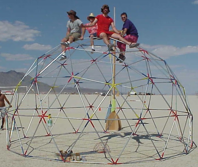Geodesic Dome Shelter July 2011