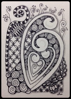 Zentangle® Inspired Art : Mystic Swirls