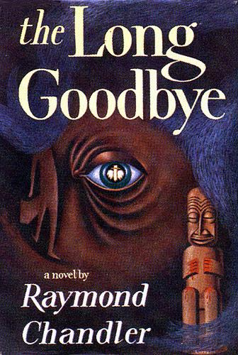 Vintage Mystery Book Dust Jacket/Cover-The Long Goodbye—Raymond Chandler (via finsbry)
