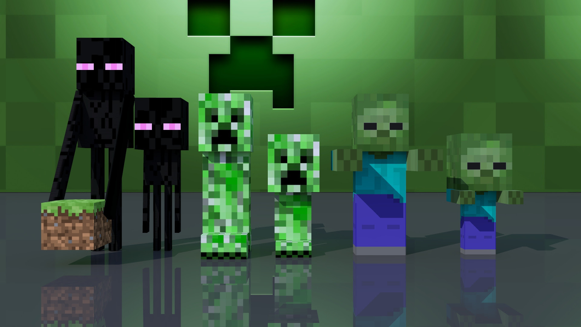 Minecraft Animation Zombie And Enderman - Omong t