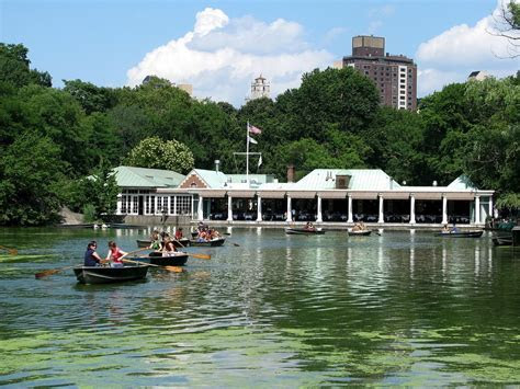 The Boathouse, Central Park, NYC   Places to see   Central