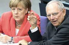 Merkel e Schaeuble