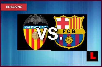 Valencia vs. Barcelona 2013: Messi Scores at Eleven Minutes