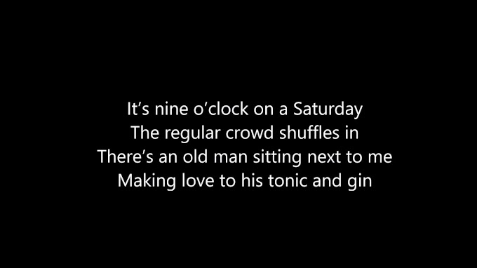 Billy Joel - Piano Man (Lyrics)