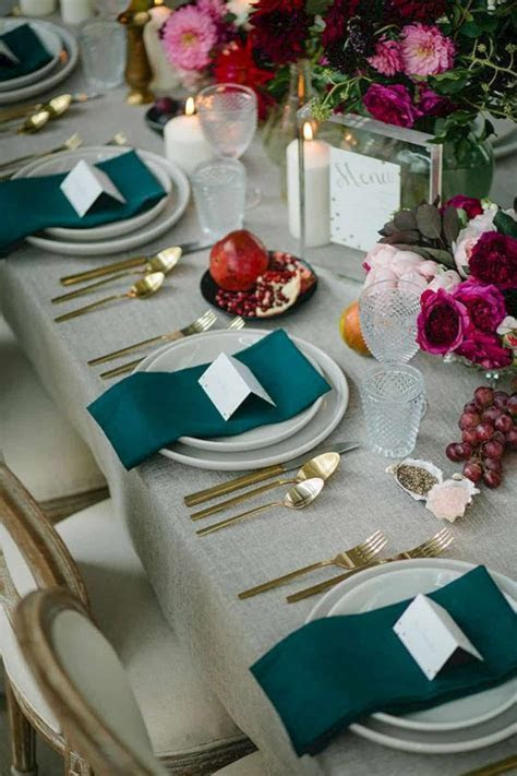 18 Adorable Teal Wedding Ideas   Design Listicle