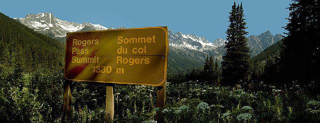 Rogers Pass summit