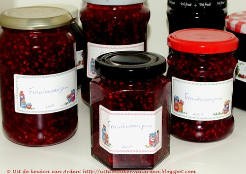 Frambozenjam / Raspberry jam