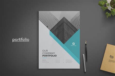 Company Portfolio ~ Brochure Templates ~ Creative Market