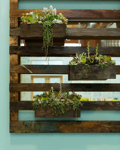 Trendoffice: Old wood - beautiful ways of recycling