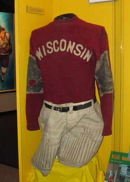 An amazing 1924 University of Wisconsin jersey