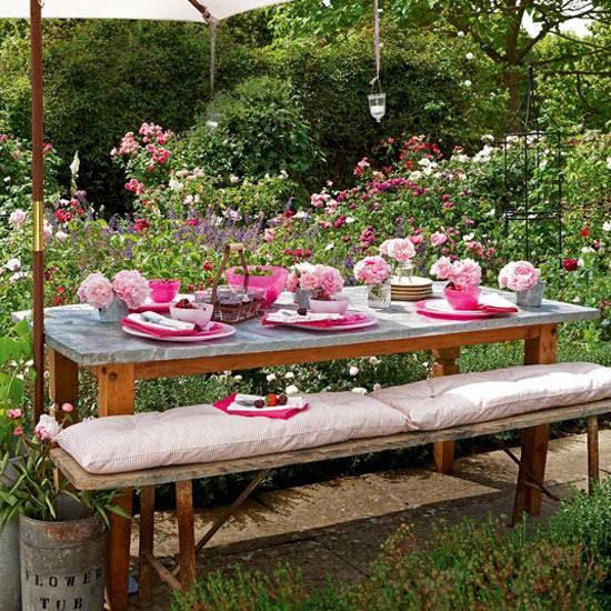 Sommer Deko für Ihre Gartenparty   Moderne Beleuchtung