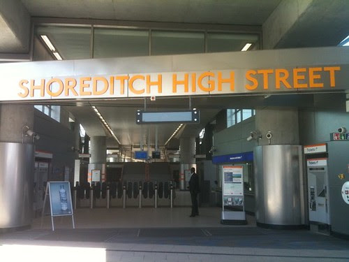 Shoreditch High Street Station by Bryon Manley