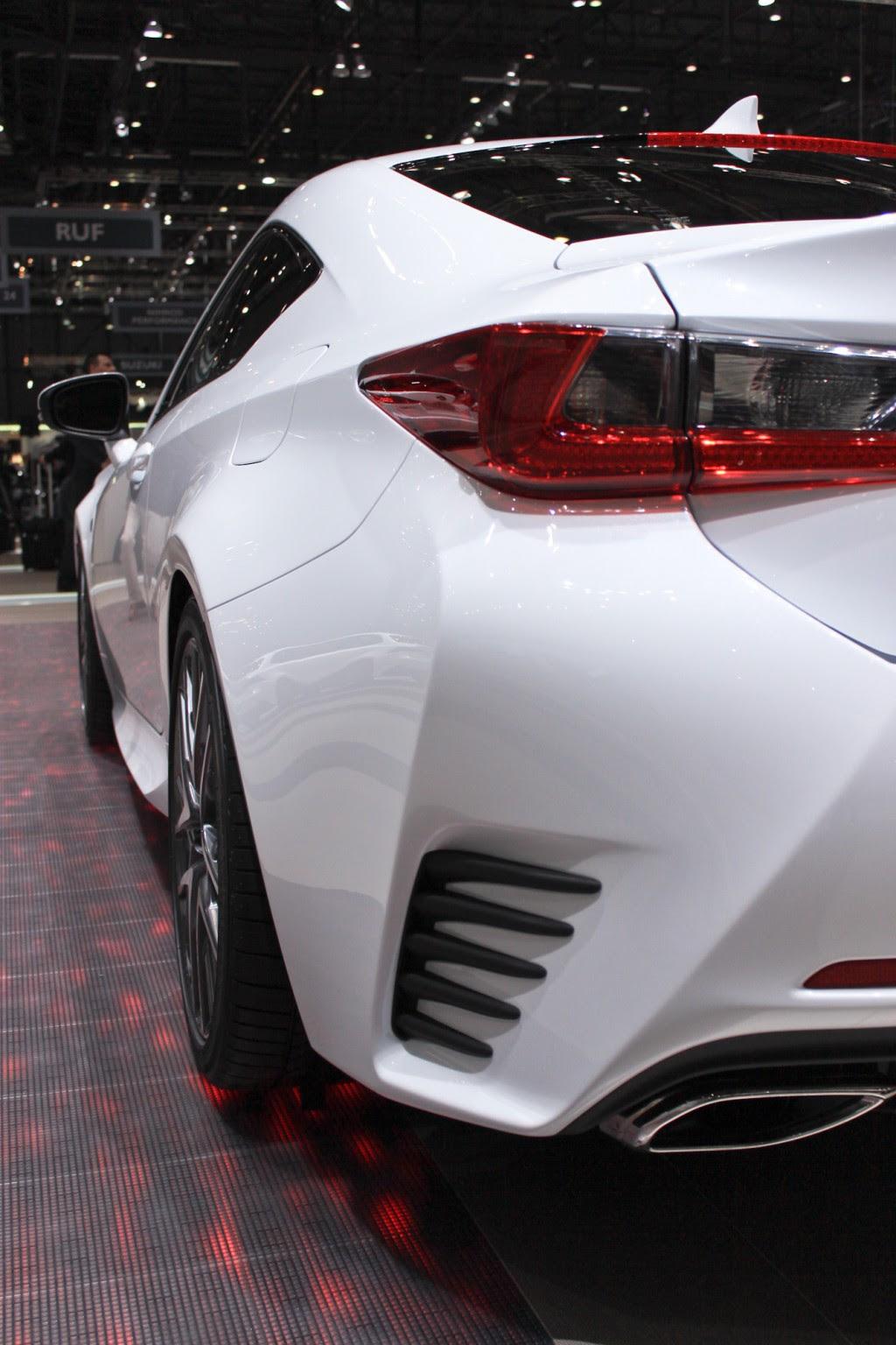 2015 Lexus RC 350 F Sport Revealed: 2014 Geneva Motor Show ...