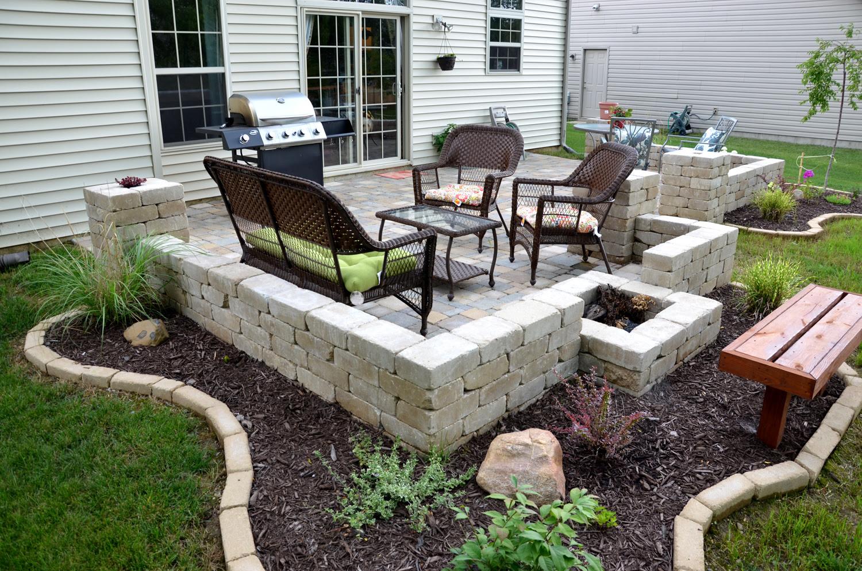 DIY backyard paver patio outdoor oasis tutorial | The ...