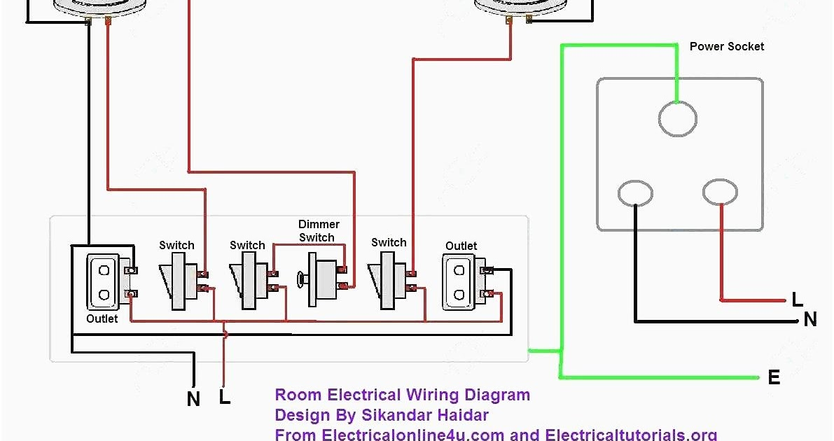 Electrical Wiring Split Circuit