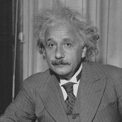 Albert Einstein by Sobibor.