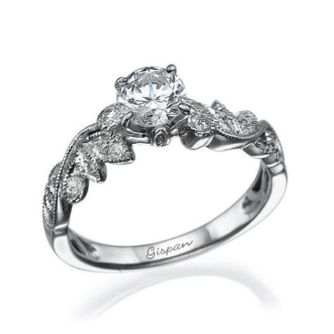 Forever Brilliant Moissanite Engagement Ring, Moissanite