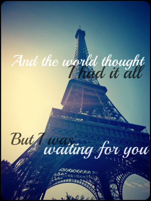 Photo Gallery: eiffel tower tumblr quotes