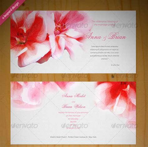 40  Best Wedding Invitation PSD Templates   DesignMaz
