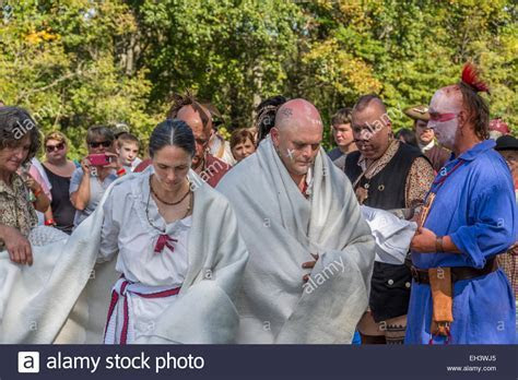Traditional Cherokee Native American wedding ceremony