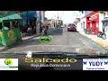 En la calles de salcedo Republica Dominicana