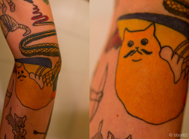 Henry Darger Tattoo