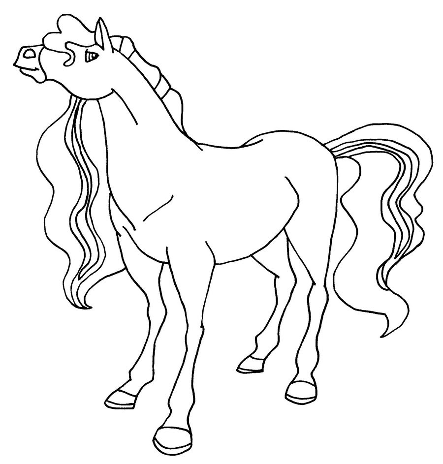Horseland coloring pages to download and print for free