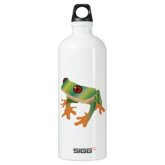 Tree Frog Art on Sigg Water Bottle SIGG Traveler 1.0L Water Bottle