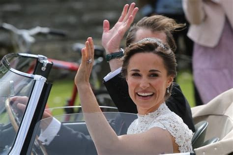 A Closer Look At Pippa Middleton's Wedding Ring   Quiet