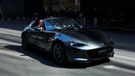 mazda roadster rf debuts  japan retails