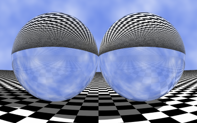 Dos esferas de cristal (XSight RT)