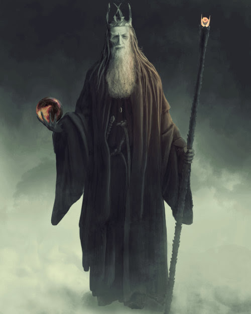 Gandalf the Black by Benjamin Collison