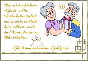 Hochzeit Blog Gluckwunschtexte Goldene Hochzeit