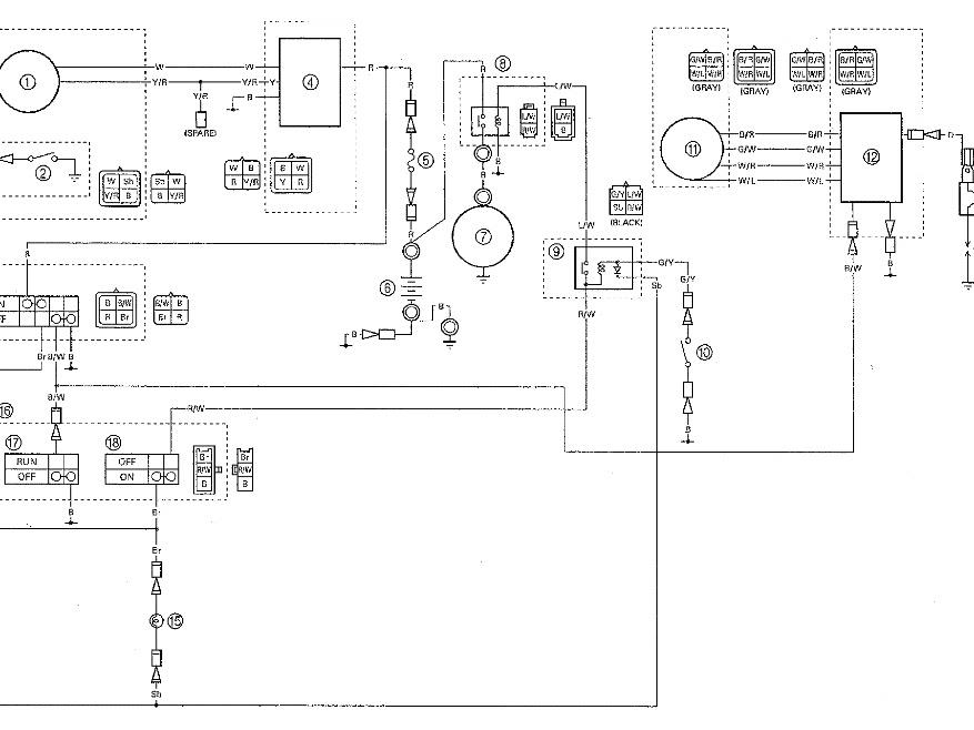 Yfm80 Wiring Diagram