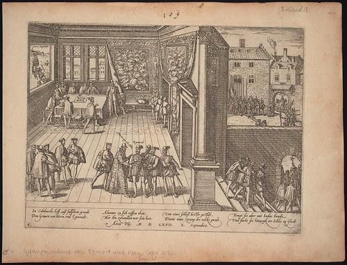 Gefangennahme von Egmont und Hoorn (c 1567)