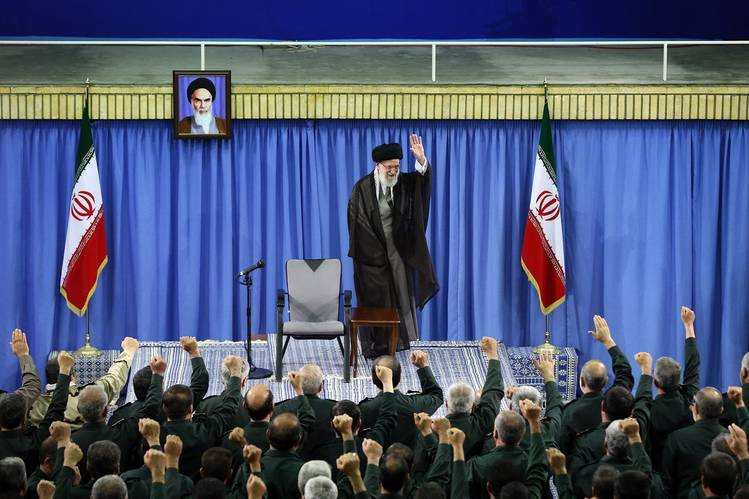 The cyberattacks are the latest sign that hard-line factions inside the regime, including the military and office of Supreme Leader Ayatollah Ali Khamenei, above, haven't moderated their hostility toward Washington.